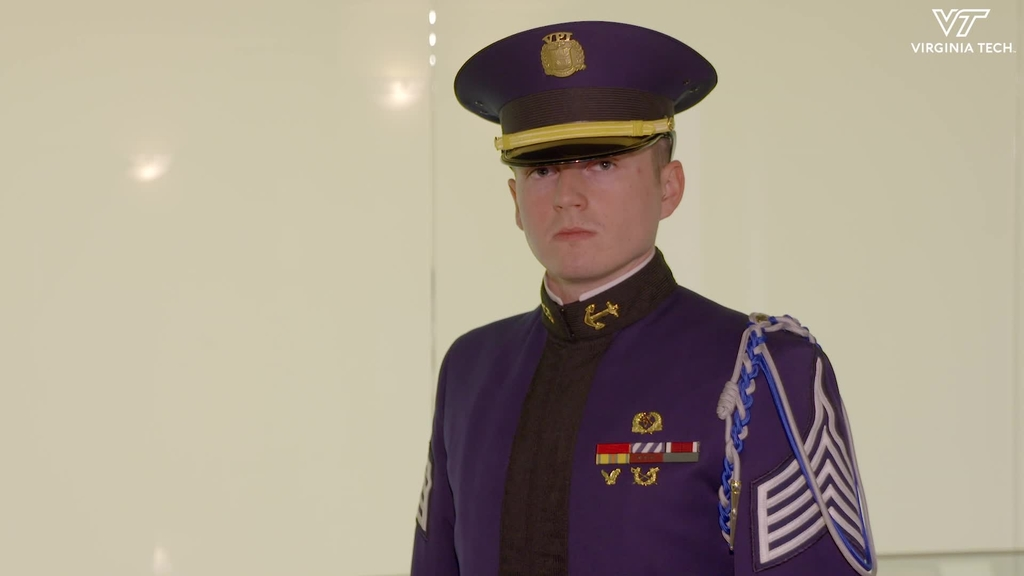 Cadet Gavin Moore inspired to serve others
