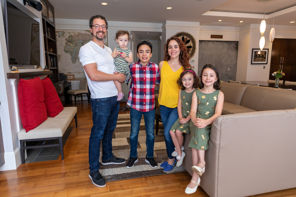 Engineering professor shares experience of living on campus with family of 6