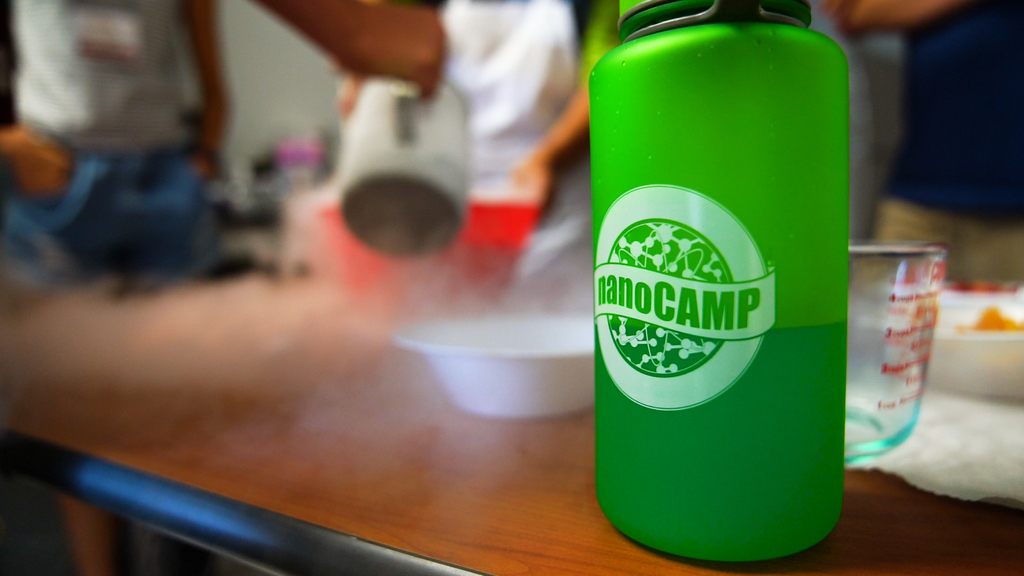 High School students engage in hands-on learning at NanoCamp 2019