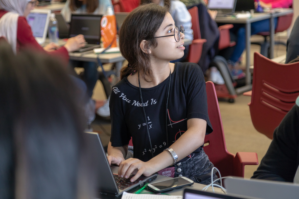 TechGirls from Middle East, Africa visit Virginia Tech for coding camp