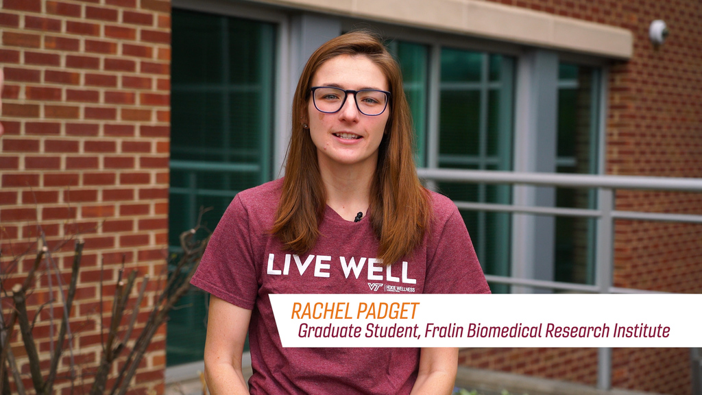 Graduate Student Rachel Padget talks about the Importance of Prevention