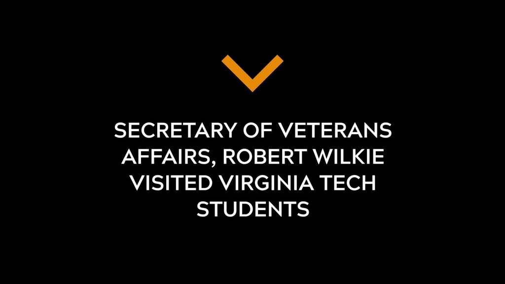 Secretary Of Veterans Affairs visits VT