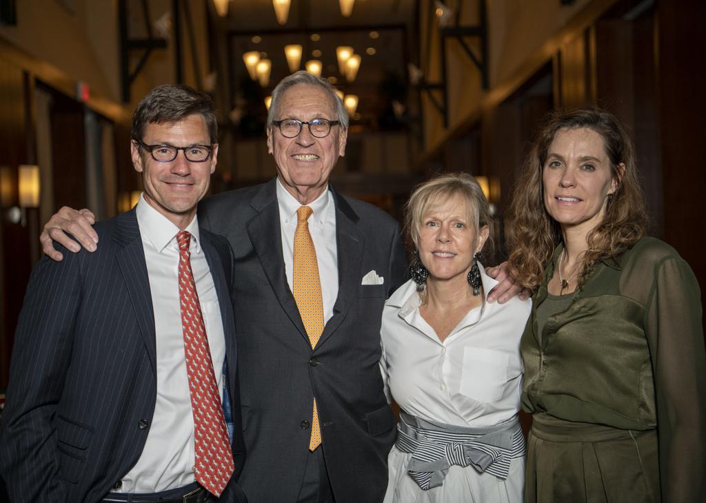 Virginia Tech awards Heywood Fralin the 2019 William H. Ruffner Medal
