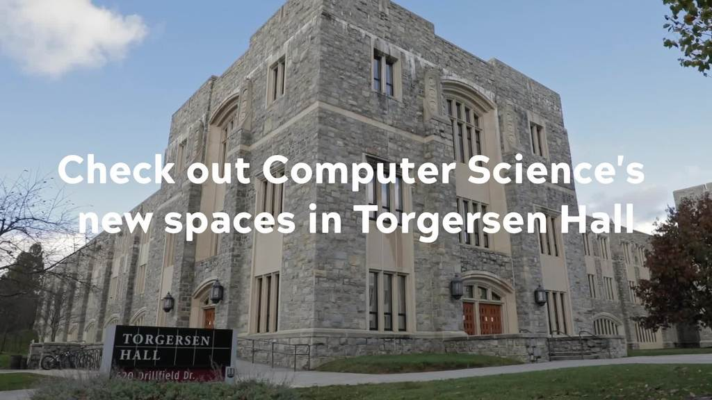 Growing Into New Space: Torgersen Hall Tour