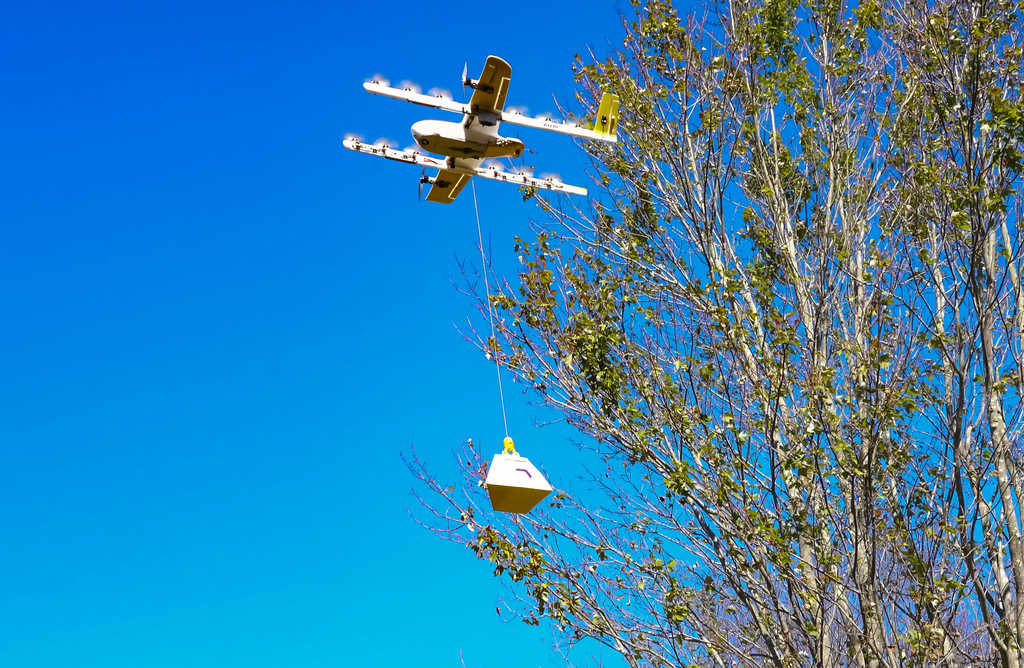 First drone deliveries in the U.S. begin in Christiansburg