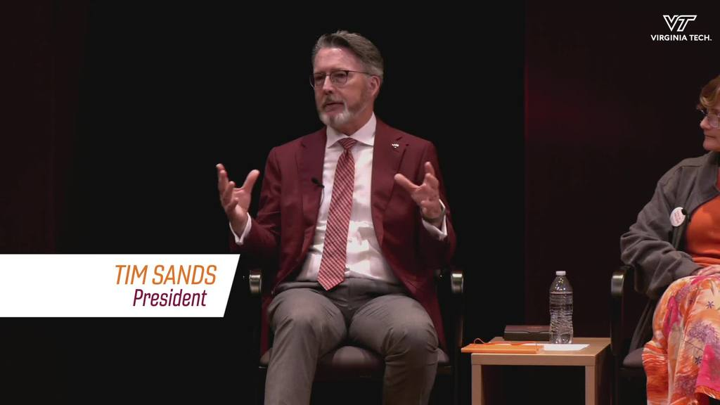 June 15 Town Hall: President Sands highlights impact of a vaccinated community