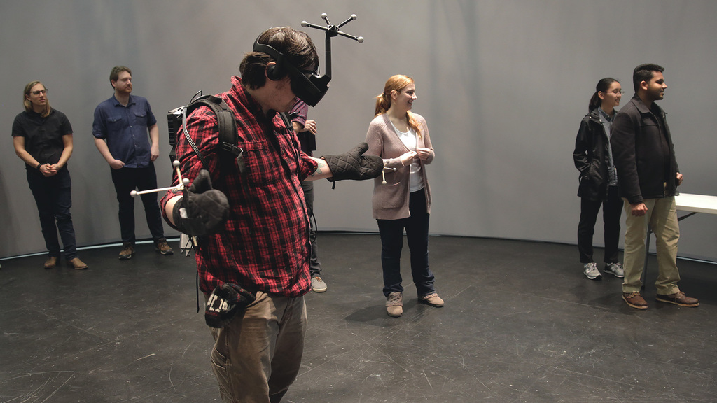Winter Course Feature - Immersive Virtual Environment