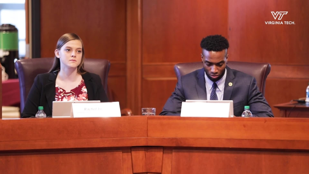 Student Representatives to Board of Visitors give voice to student perspective