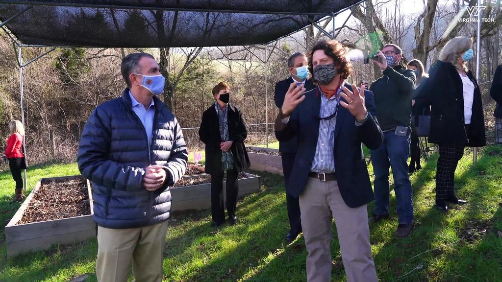 Virginia Gov. Northam announces AFID grant for the Catawba Sustainability Center
