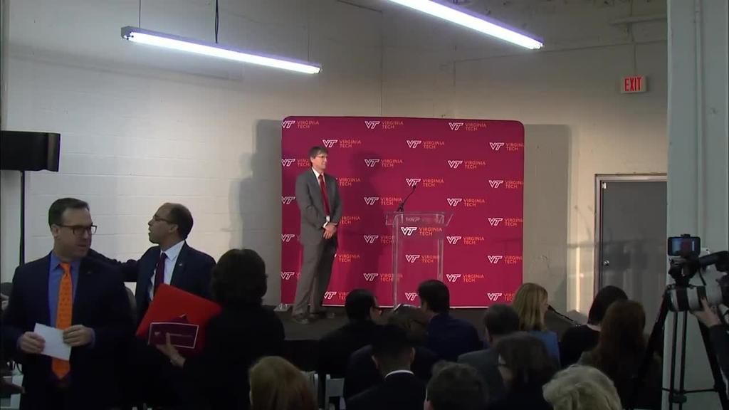 Virginia Tech Innovation Campus Announcement