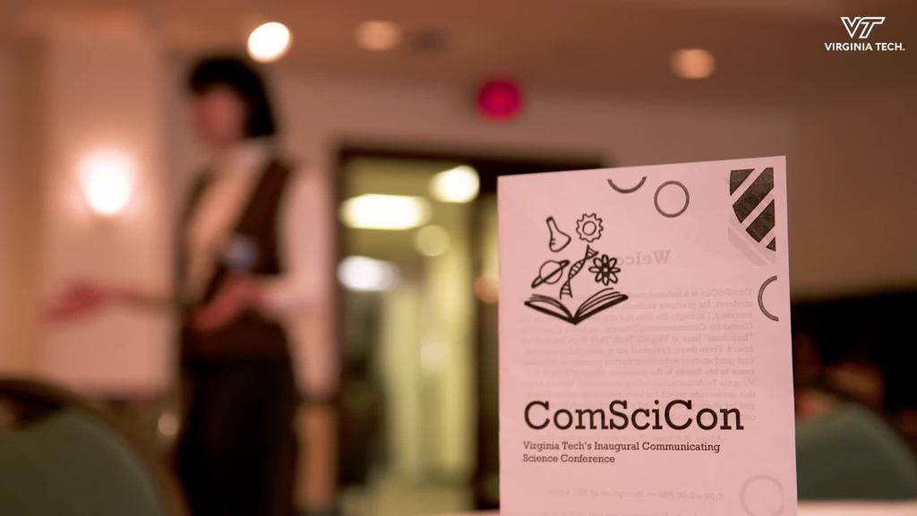 Graduate Students attend Virginia Tech's first ComSciCon