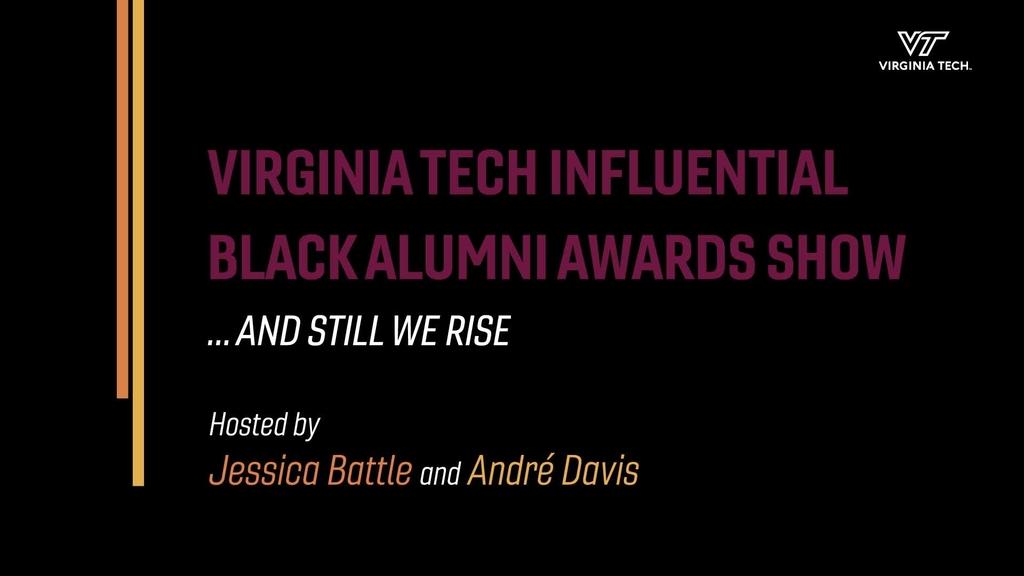 2021 Influential Black Alumni Awards Ceremony