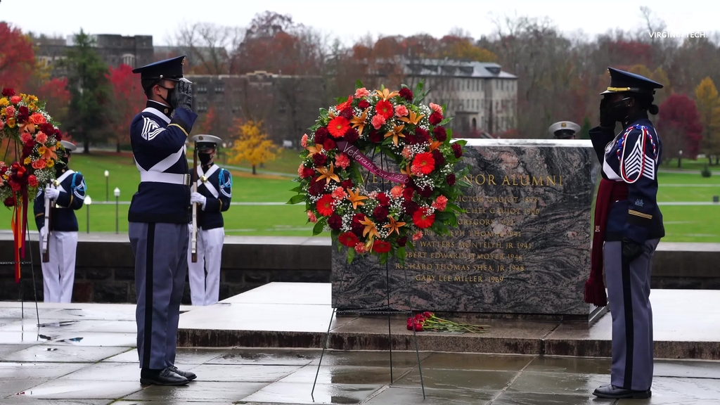 Veterans Day ceremony honors former, current, and future service members