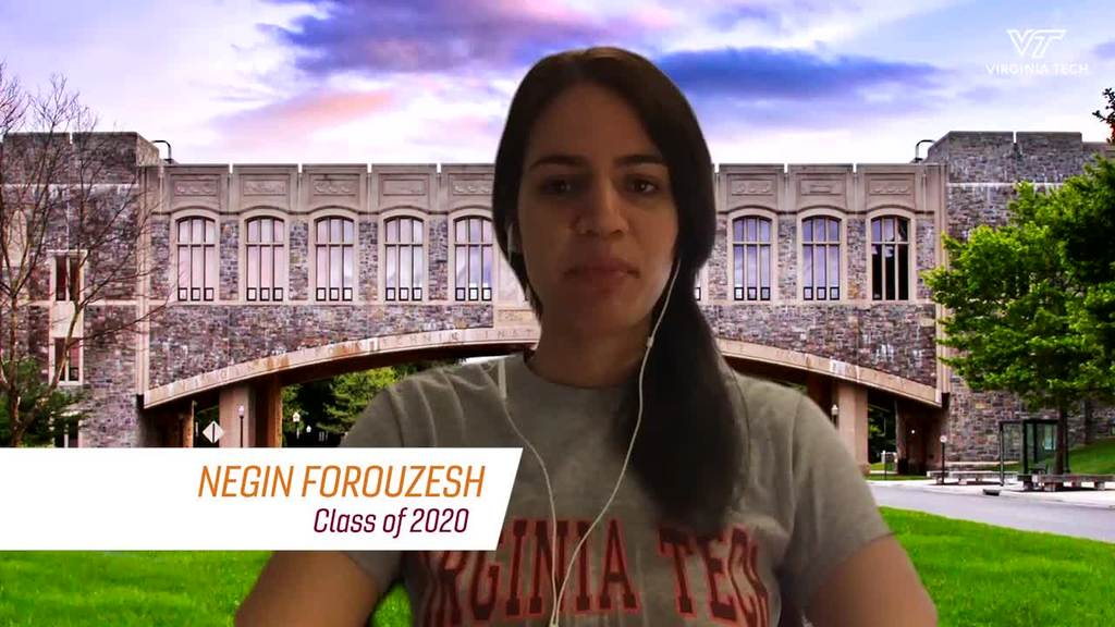 Outstanding Graduate Student of the Year, Negin Forouzesh