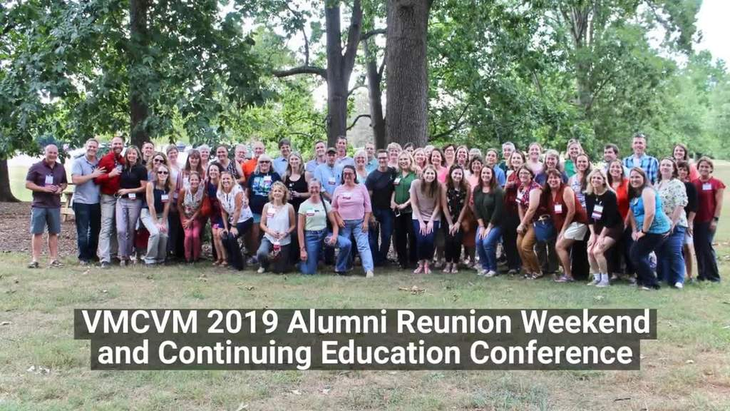2019 Vet Med Alumni Reunion Weekend and Continuing Education Conference