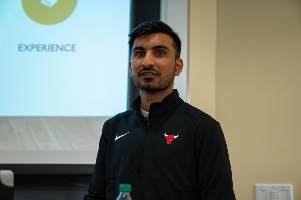 Alumnus finds dream job combining analytics and basketball