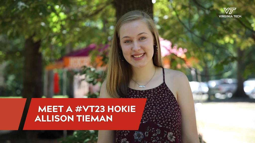 Meet A #VT23 Hokie: Allison Tieman