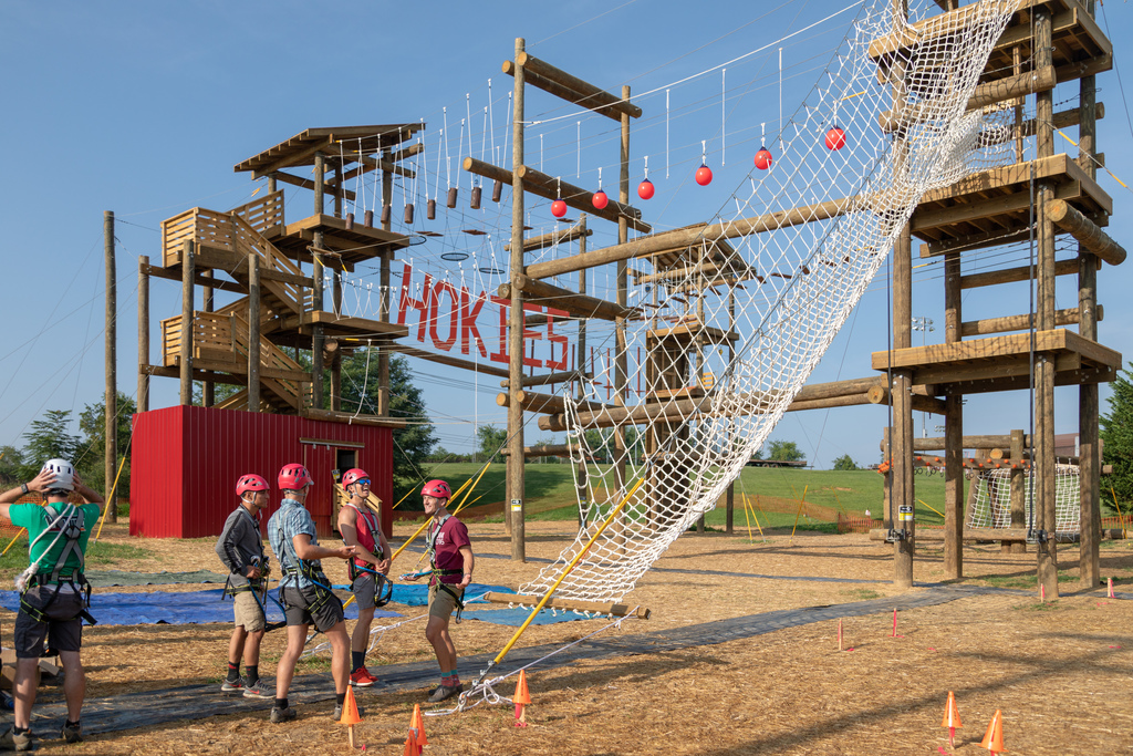 Venture Out unveils high ropes challenge course