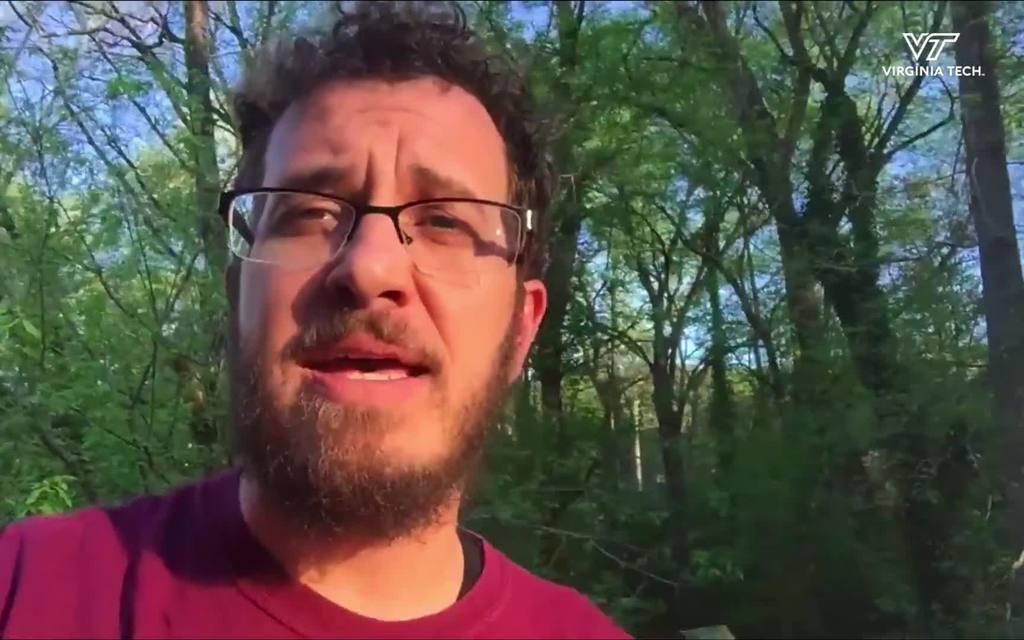 Survivor contestant and VT alumnus with a COVID-19 message for Hokies