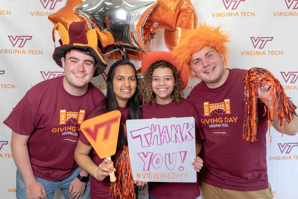 Hokies give back in record numbers during Giving Day 2019