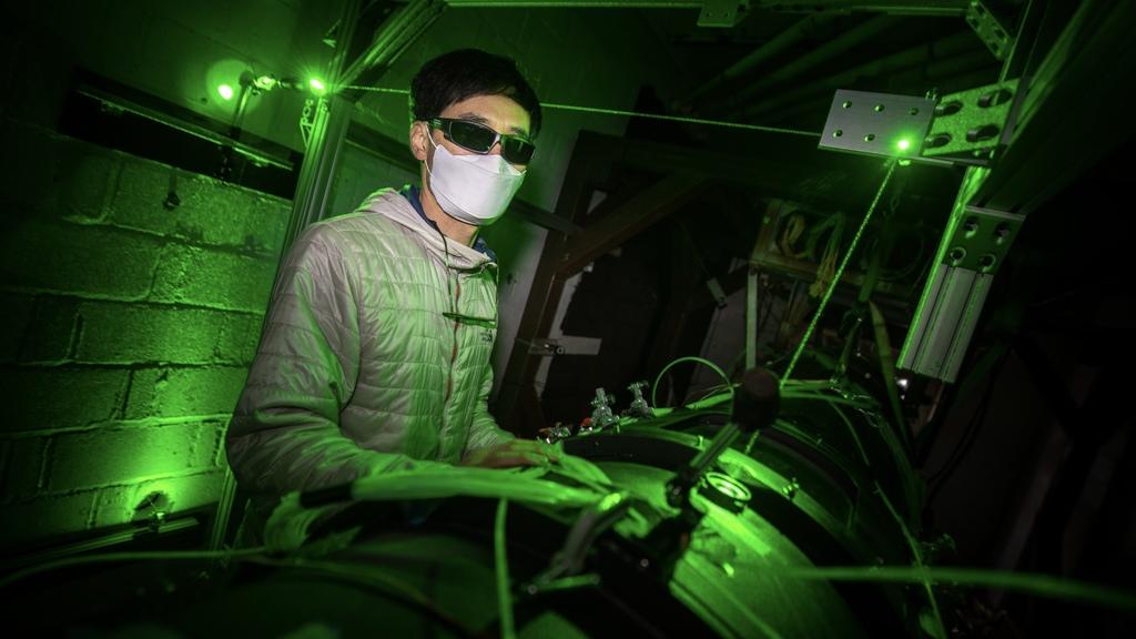 TurboLab team is developing laser-based diagnostics