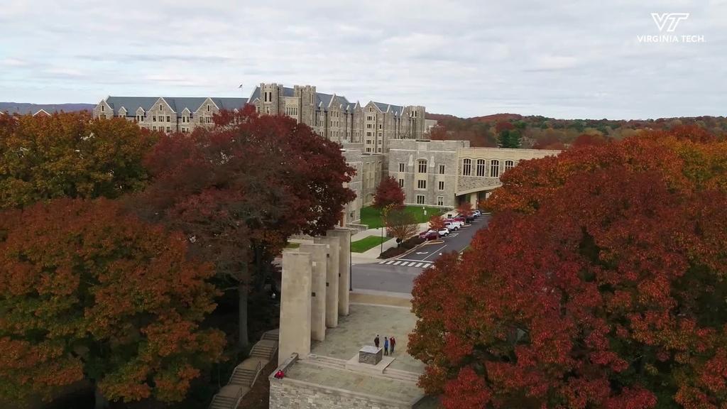 Fall colors at Virginia Tech