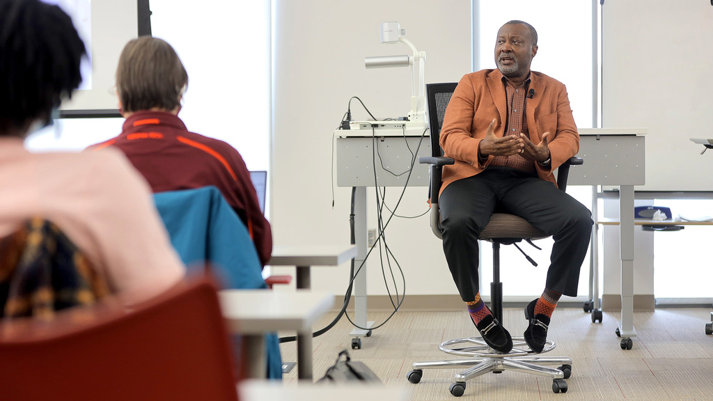 BK Fulton aims to inspire with stories of success