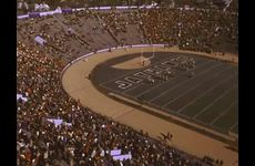 KU Marching Jayhawks [Band] and the Alumni Band: Performance at the KU v. University of Oklahoma Football Game thumbnail