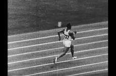 Track Footage of Jesse Owens thumbnail
