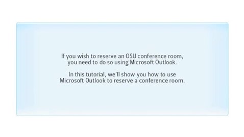 Schedule Conference Rooms Using Outlook