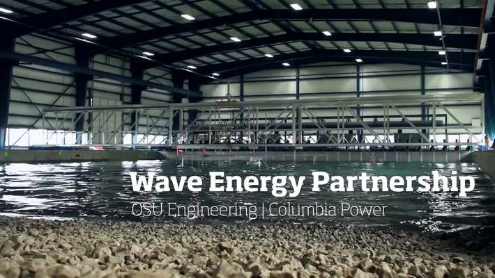 Wave Energy Partnership: OSU Engineering and Columbia Power