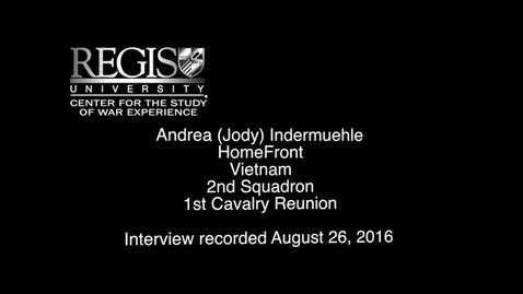 Thumbnail for entry Andrea Indermuehle Interview