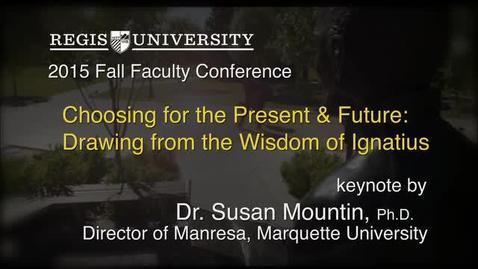 Thumbnail for entry Dr. Susan Mountin 2015 Fall Faculty Conf. Keynote