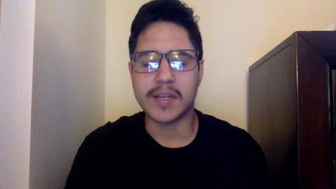 Thumbnail for entry Oscar Arellano - Self Introduction Video