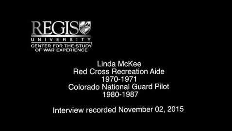 Thumbnail for entry Linda McKee Interview