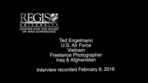Thumbnail for entry Ted Engelmann Interview