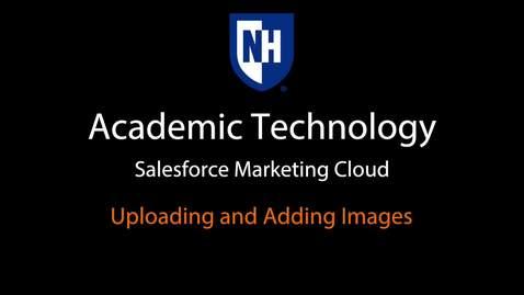 SFMC - Uploading and adding Images