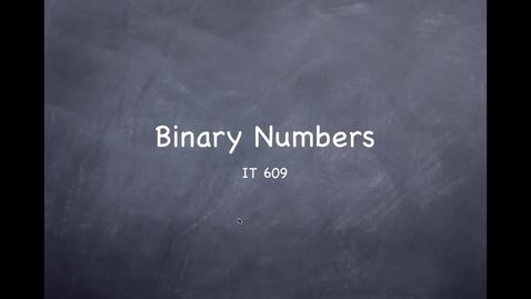 Binary Numbers - Image Attachment Test