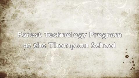 Forest Technology Program