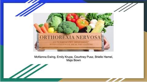 Orthorexia Nervosa