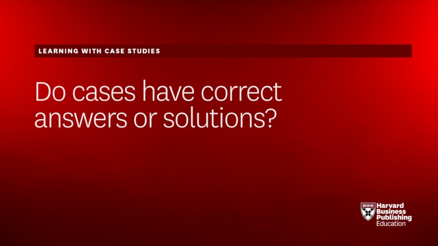 harvard business school case studies solutions