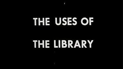 The Uses of the Library