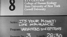 It's Your Money: Your Life Insurance Dollar