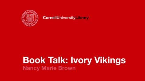 Nancy Marie Brown: Ivory Vikings