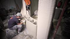 Teaser 3D printed house