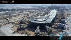 Abu Dhabi International Airport – Midfield Terminal Building Development progress 20 May 2015