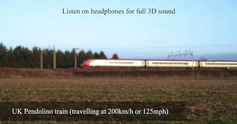 Comparing the sound of high speed trains - Pendolino