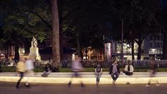 Lighting design in urban spaces