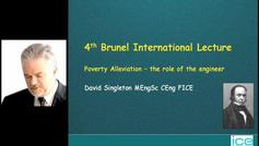 Brunel Lecture: Poverty Alleviation...