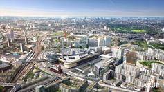 The visualisations of London's Olympic Park and Garden Bridge